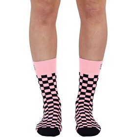 Sportful Checkmate Socks Women, pink black